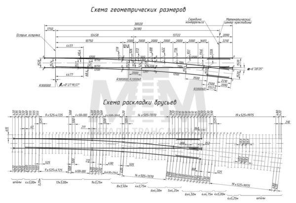 стрелочный перевод р65 проект 2244