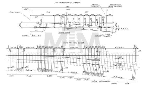 стрелочный перевод р65 проект 2766