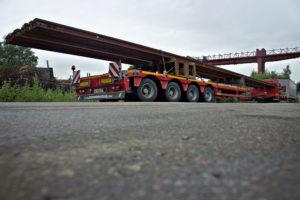 перевозка рельсов автотранспортом